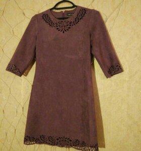 Новое платье велюр