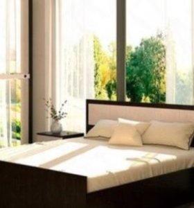 Кровать с матрасом 160*200