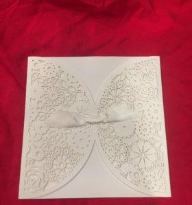 Пригласительные на свадьбу и свадебный фотоальбом