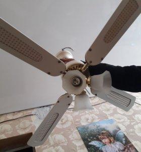 Люстра-вентилятор