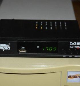 "ТВ-приставка DVB-Т2 ""Electronics EL2103HD"""