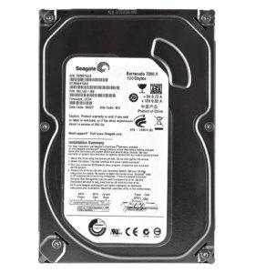Жесткий диск HDD Seagate 120 Gb SATA 7200 об/м