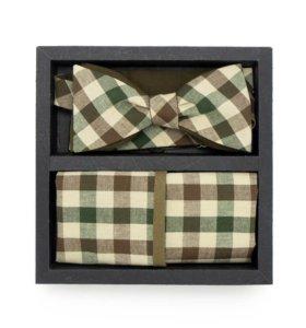 Набор №20 (галстук-бабочка, платок, запонки)