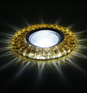 Интерьерные светильники, с подсветкой и LED лампой