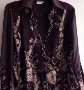 Кружевная блузка р.44-46