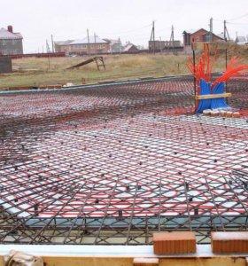 Фундаменты УШП утеплённая шведская плита