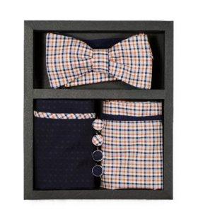 Набор №11 (галстук-бабочка, платок, запонки)