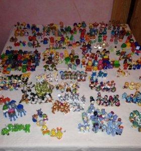Коллекция игрушек Kinder surprise
