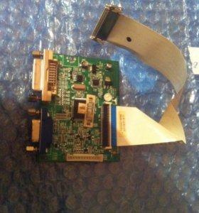 Main плата E303981 94V-0 A для монитора LG E2411T