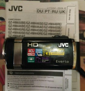 Видеокамера JVC GZ-HM446BE