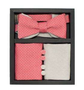 Набор #3 (галстук-бабочка, платок-паше, запонки)