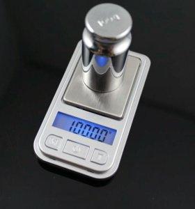 Мини-весы карманные ювелирные 200 гр.