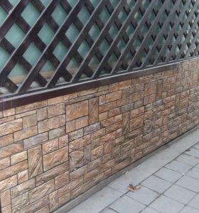 деревянные решетки, ящики и др. для растений