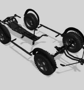 Тюнинг нива комплект Lada 4x4 cross