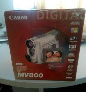 Видео камера canon mv 800