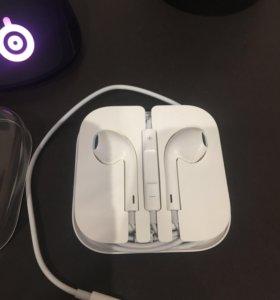 Оригинальные новые наушники Apple