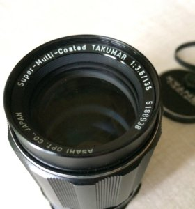 Super-Multi-Coated Takumar f3.5 135mm
