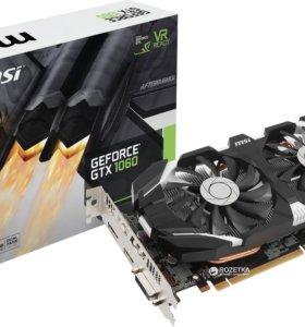 Видеокарта MSI GeForce GTX 1060 OC 6144MB 192bit