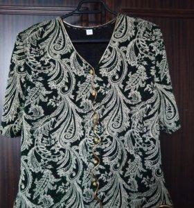 Женская блузка вечернее