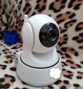 Видеоняня видеокамера с просмотром через WIFI