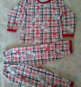 Пижама 86-92 красный яр