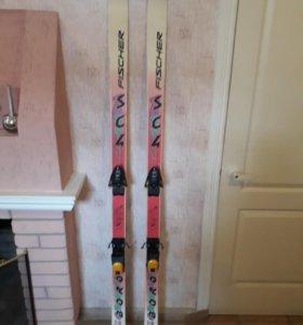 Горные лыжи FISCHER с креплениями LOOK XR