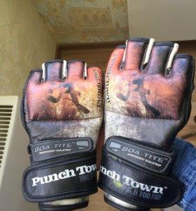 Перчатки мма punchtown