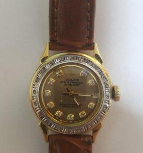 Часы женские золотые 585 РОЛЕКС
