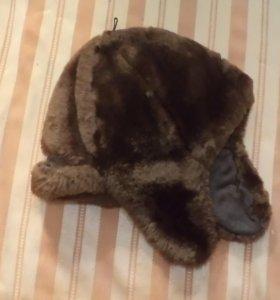 Детская меховая шапка из овчины (цигейки) до 9 лет