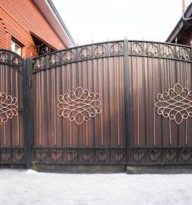 Кованые ворота 0,7,ковка