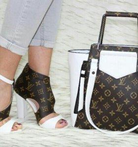 Комплект обувь сумка кошелёк