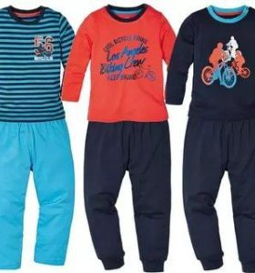 Lupilu Пижама для мальчика 4-6 лет 110-116 см