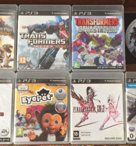 Диски PlayStation 3 PS3