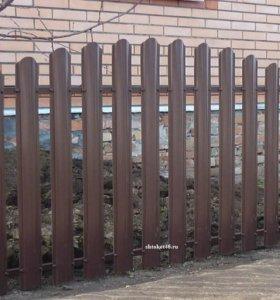Евроштакетник, заборы, ворота