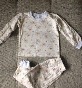 Новая детская пижама хб