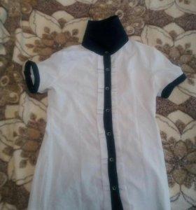 Рубашки на девочку 42 размер
