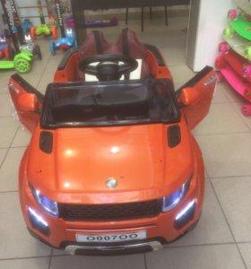 Электромобиль Range Rover