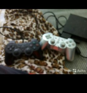 PlayStation 2 + 2 джостика
