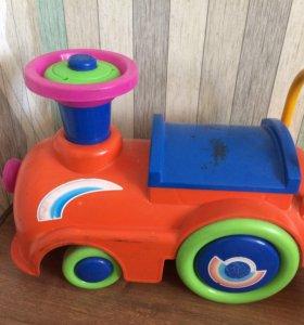 Продам детский паровоз