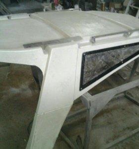 Новая крыша на катер Yamaha F-24f.