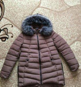 Зимний пуховик(утеплитель халафайбер)очень теплый