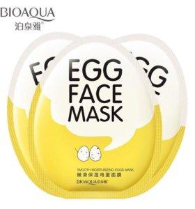 Тканевая маска Яичная