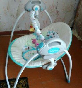 Электрокачели babycare