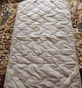 Одеяло и наматрасник фирма Алладин
