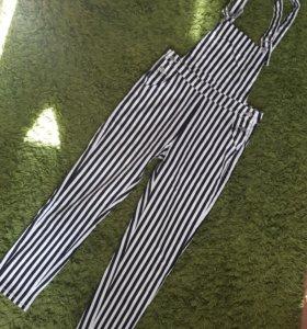 Комбинезон новый летний джинса