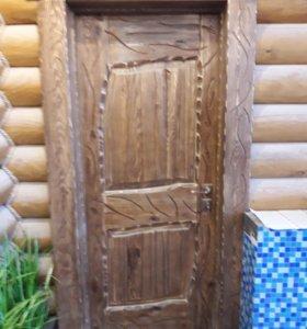 Двери под старину