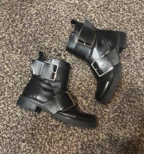 Ботинки натуральная кожа, страдивариус