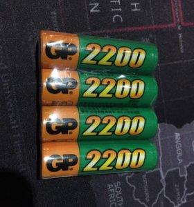 Аккумулятор GP 2200mAh 4шт.