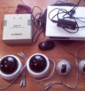 Комплект для видеонаблюдения в сборе