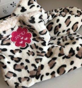Новые женские домашние тапочки-носки